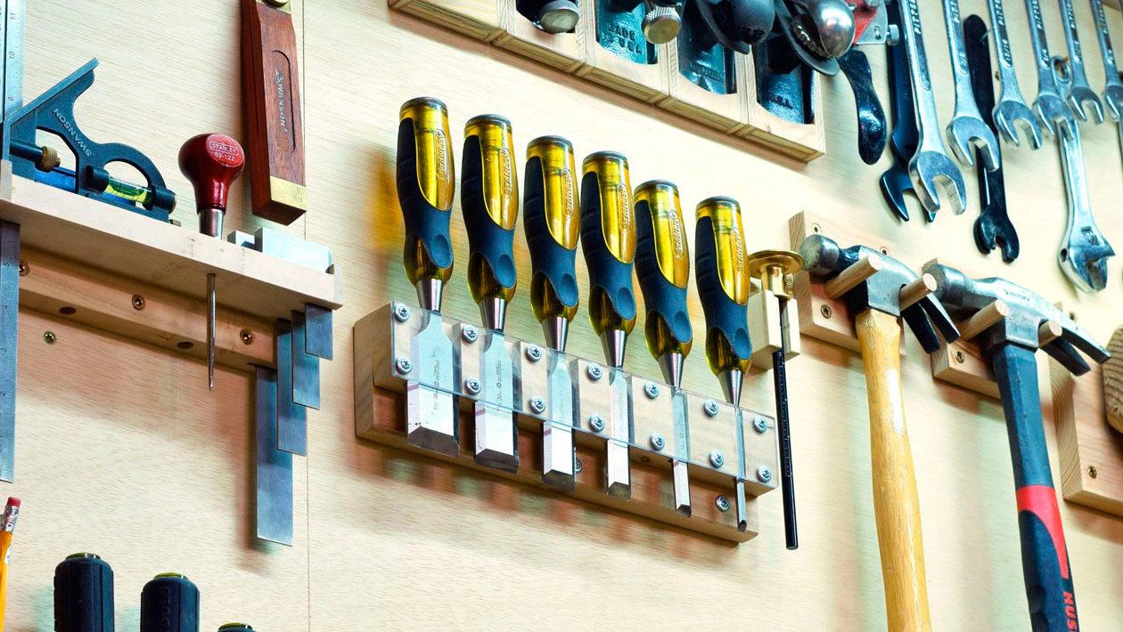Como organizar suas ferramentas?